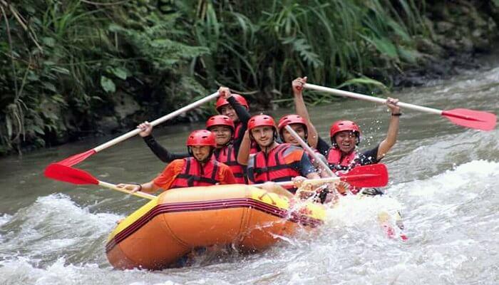 tubing and rafting bali